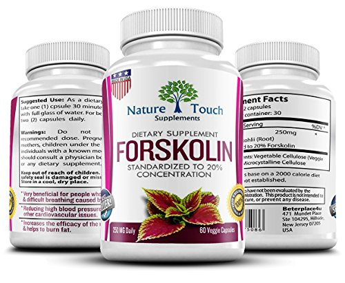 Verified-Forskolin-Forskolin-Fit-Pro-Dietary-Supplements-Weight-Loss-for-Women-Forskolin-for-WomenForskolin-Belly-BusterForskolin-ExtractForskolin-250By-Nature-Touch-0-0