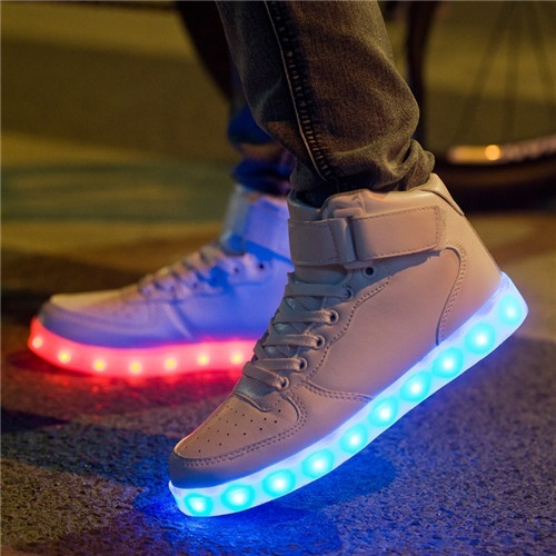 LED light shoes