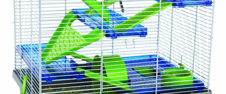 A Big Hamster Cage For Your Furry Friend